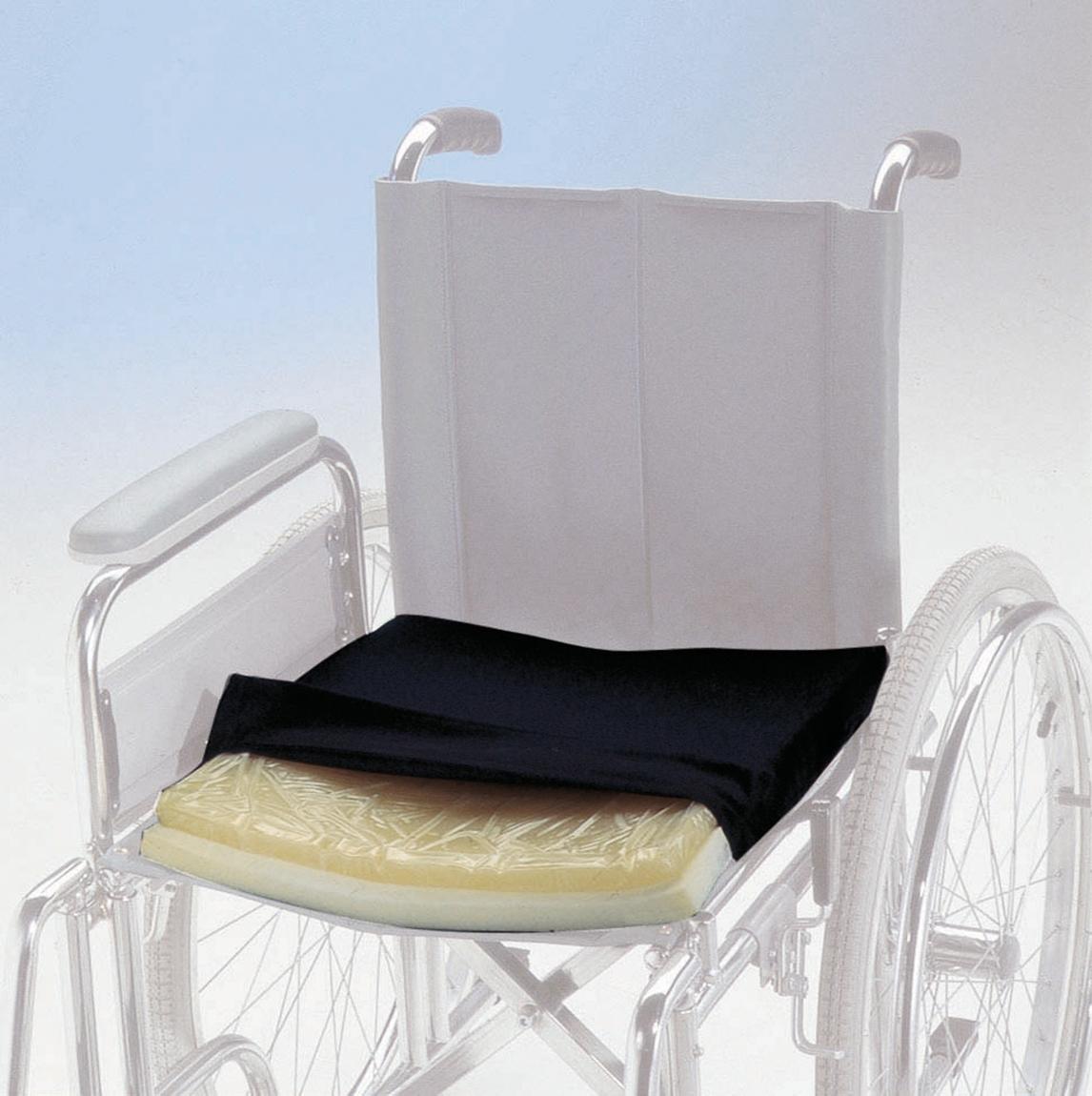 Cuscino Antidecubito in Gel Fluido per sedia a rotelle
