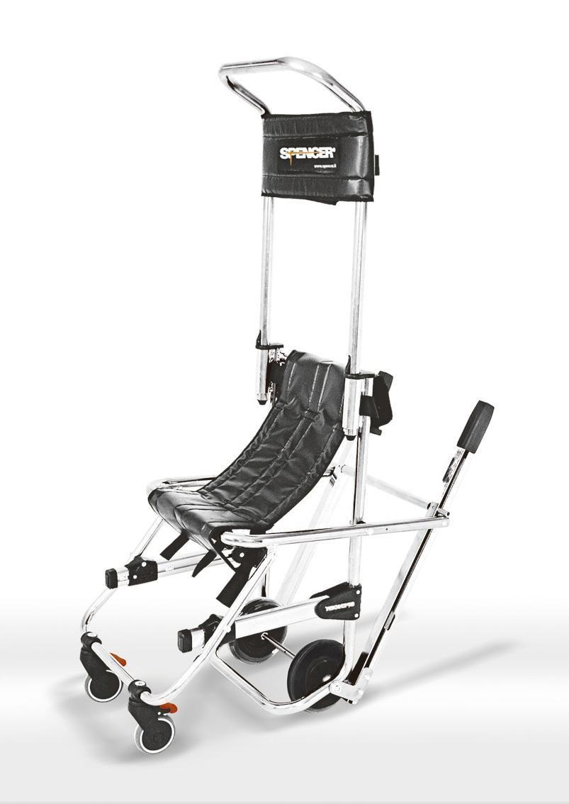 Sedia Da Evacuazione Trasporto Pazienti Feriti Disabili Anziani Skid Spencer