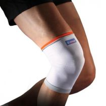 Ginocchiera sportiva elastica di contenzione in maglia traspirante a compressione - Thuasne Sport