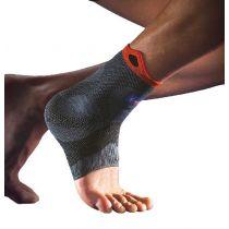 Cavigliera a compressione elastica rinforzata di sostegno per distorsioni e instabilità -  Thuasne Sport