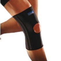 Ginocchiera elastica a compressione e rinforzata di supporto in neoprene -  Thuasne Sport