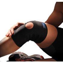 Ginocchiera elastica di supporto in neoprene con foro rotuleo - Thuasne Sport