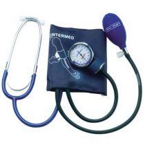 Sfigmomanometro Ad Aneroide per Auto Misurazione Latex Free con Fonendoscopio Incorporato