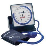 Sfigmomanometro Ad Aneroide Latex Free con Grande Quadrante - Colore Blu -
