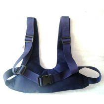 Fascia Pettorina Lavabile Colore Blu con Bretelle