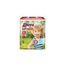 Libero - Pannolini Bebè Up&Go 6 (13-20 kg)