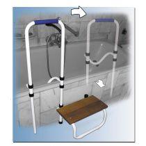 Maniglia di accesso vasca con gradino Acceo