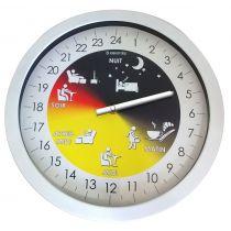 Orologio da muro 24 ore