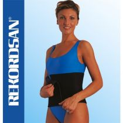 Cintura Dimagrante Slimming-Cell Regolabile Unisex - Rekordsan - Nera (Codice 897)