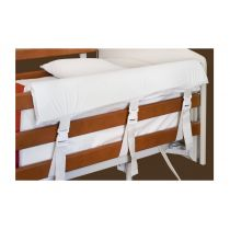 Paracolpi di sicurezza sfoderabile e sagomato per sponde letto