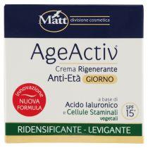 Crema anti rughe giorno ridensificante e levigante - AgeActiv - 50 ml