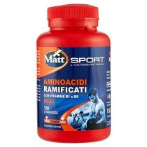 BCAA Aminoacidi ramificati Fitness con vitamine B1 e B6 - 120 compresse