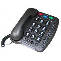 Telefono per anziani amplificato +50db con tecnologia Half Duplex - Amplipower 40