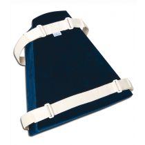 Art. 960 Cuscino per abduzione degli arti inferiori  con rivestimento in cotone - 30x25x15 cm