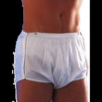 Mutandina per incontinenza impermeabile e regolabile - Scudotex - Bianca (cod. 676)