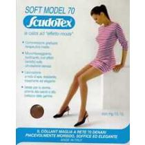 Collant Soft Model 70, Maglia a Rete a Compressione Media Mm Hg 13-16 - Scudotex (Codice 670)