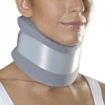 Collare cervicale semirigido con fascia rigida di sostegno rimovibile - Gibaud - h. 9 cm