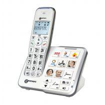 Telefono cordless per anziani amplificato con segreteria - Amplidect 295
