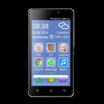 Telefono Smartphone per anziani amplificato e Dual Sim - eSmart M2