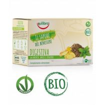 Tisana Digestiva Bio Vegan - 20 Filtri Equilibra