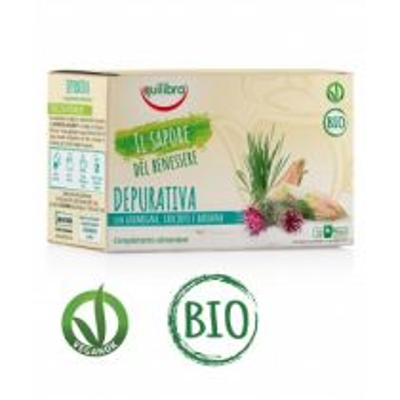 Tisana Depurativa Bio Vegan - 20 Filtri Equilibra