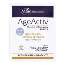 Maschera viso distensiva anti età monouso a base di cellule staminali vegetali - AgeActiv Maschera Distensiva Antirughe - 17 ml