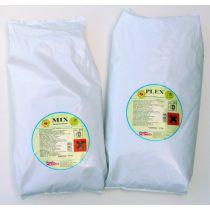 Plex Detersivo enzimatico in polvere per lavatrice domestica o semi-professionale enzimatico - Sacco da 10 kg
