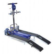 Montascale a cingoli universale con rampe per seggioloni e carrozzine elettroniche - LG 2004/150/A008