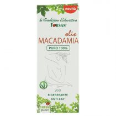 Olio Viso Di Macadamia Puro Al 100% Effetto Rigenerante Anti Age