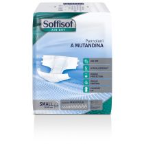 Pannoloni A Mutandina Air Dry Con Alette Adesive Soffisof Maxi Plus