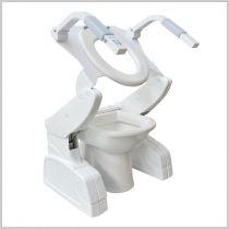 Sollevatore a Batterie Ricaricabili per WC Pro-Lift Silver