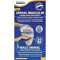 Care Bag Cleanis Sacchetto Assorbente Urinale Maschile Bio - 20 sacchetti