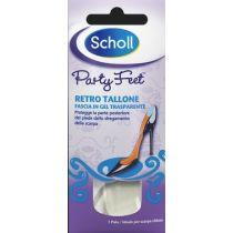 Plantare ultra sottile in gel trasparente per la protezione del tallone – 1 paio - Scholl Party Feet Ultra Slim
