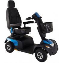 Scooter elettrico a 4 ruote potente e robusto  4W 10 km/h - Comet Alpine Plus - Blu zaffiro