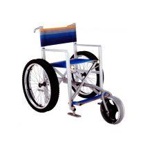 Sedia da spiaggia Solemare con ruota anteriore
