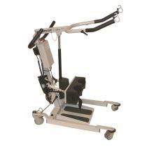 Sollevatore idraulico attivo con apertura base a pedale - Pallas 150