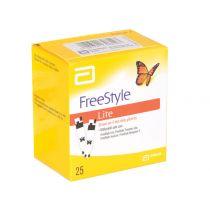 Strisce Glucosio Abbott Freestyle Lite - Confezione da 25 Pezzi