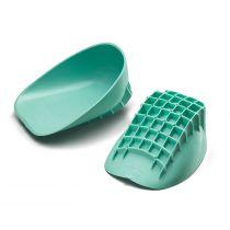 Talloniera Tuli's verde e avvolgente per scarpe sportive