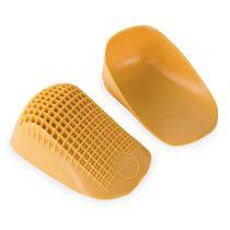 Talloniera Tuli's gialla ideale per tutti i tipi di scarpa