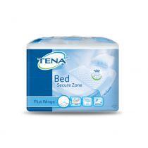 Traversa letto con materassino assorbente e rivestimento impermeabile Tena Bed Secure Zone