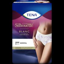 TENA Silhouette Normal Blanc Vita bassa – Mutandine assorbenti femminili