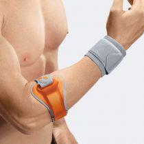 Bracciale per Epicondilite con Pressore di Frizione Laterale-Mediale Zigrinato