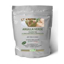 Argilla Verde Ventilata Polvere Fine 1 Kg - per Massaggi, Trattamenti Anticellulite e Dolori Articolari