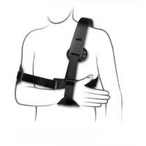 Immobilizzatore di spalla B.R.I.D.G.E - Struttura in materiale composito, leggera e resistente