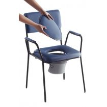 Sedia comoda imbottita per anziani e disabili