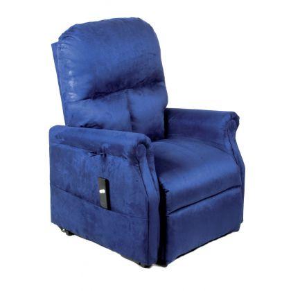 Poltrona Relax Per Anziani E Disabili Elevabile E Reclinabile Con Alzata Assistita 1 Motore In Microfibra