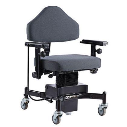 Sedia Da Ufficio Bariatrica Con Ruote Seduta 62x50 Portata 325 Kg