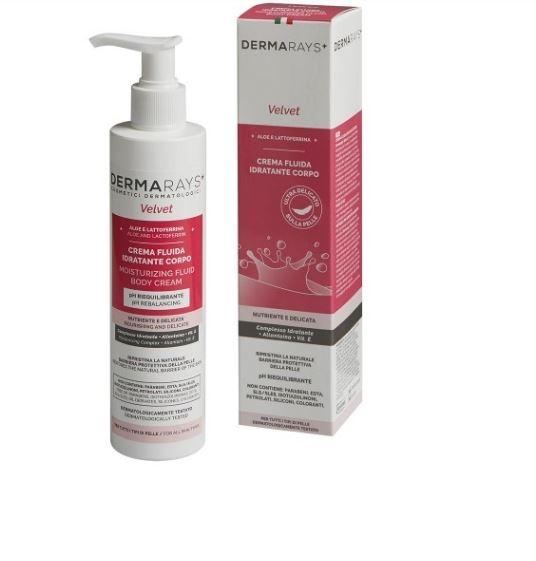 Crema fluida idratante per il corpo - Dermarays Velvet