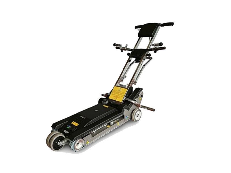Jolly - Montascale Mobile a Cingoli TGR versione rinforzata con doppia ruota anteriore